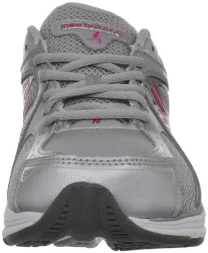 New Balance Mujeres Ww847 Salud Zapato Para Caminar Gris / Rosa
