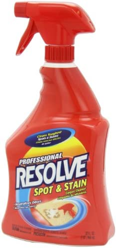 Resolve Professional Strength Spot and Stain Carpet Cleaner, Red, 32 Fl Oz (Pack of one)