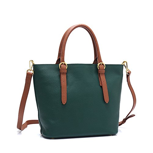 De De Nuevo Marrón Bolso Moda La Green Color Del Señora GWQGZ La qAExw0qa