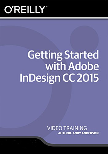 Getting Started with Adobe InDesign CC 2015 - Training DVD (Indesign Training)