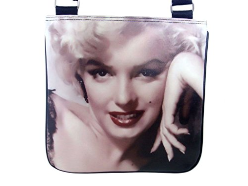 Marilyn Monroe Collectible Shoulder Cross Body Sling Messenger Bag