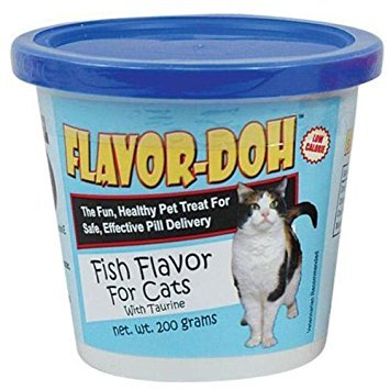 2-Pack-Flavor-Doh-for-Cats-Fish-flavor-7-oz-each