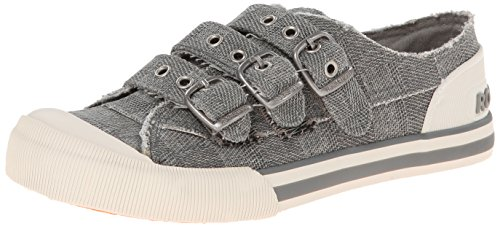 Rocket Dog Women's Jolissa Ranger Cotton Fashion Sneaker, Grey, 9 M US (Rocket Slip On)