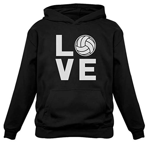 Love Volleyball for Volleyball Fans Women Hoodie Medium Black from Tstars