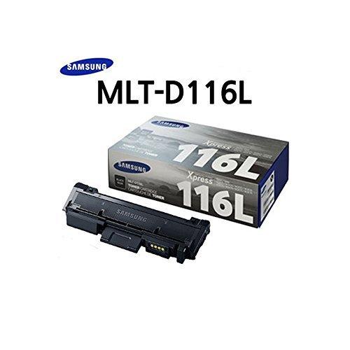Samsung MLT-D116L Black Toner (3,000 pages) High Yield Toner for SL-M2825DW, SL-M2875FD/FW, SL-M2835DW, SL-M2885FW, ()