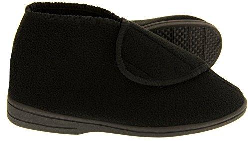 Coolers Hombre Ortopédicos Botas Zapatillas Negro