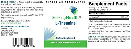 Amazon com: L-Theanine   Best L-Theanine Amino Acid