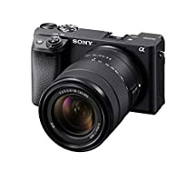 Sony Alpha a6400 Mirrorless Camera: Compact APS-C Interchangeable Lens Digital Camera with Real-Time Eye Auto Focus, 4K Video, Flip Screen & 18-135mm Lens - E Mount Compatible Cameras - ILCE-6400M/B