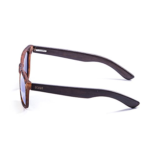Ocean Sunglasses Beach Lunettes de soleil Demy Brown Frame/Wood Dark Arms/Brown Lens wSHHRHH