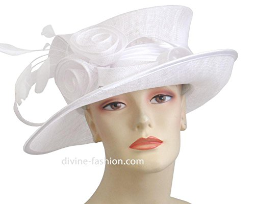 Ms. Divine Collections Women's Hats, Church Hat, Dressy Formal Hats #J003