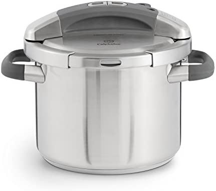 Calphalon Pressure Cooker 6 Quart BlackSilver