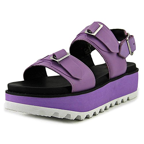 Slide Toe mid Womens Open Sandals Hunter Casual org Buck Purple dbl T4xUwqwpZg