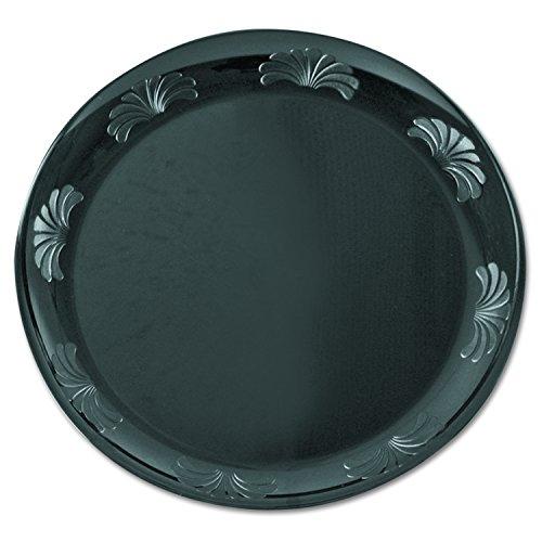 Designerware Plastic Dinnerware Plate, 7.5-Inch, Black (180-Count) - Designerware Plastic Dinnerware