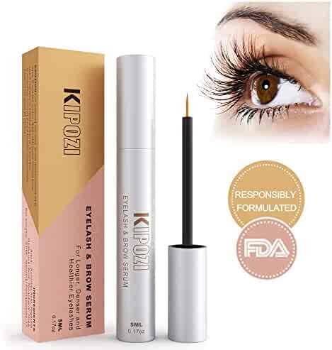 748a4ff53dc KIPOZI Lash Enhancer Serum Eyelash & Brow Extensions Achieve Lashes Longer  Fuller and Thicker Looking Get
