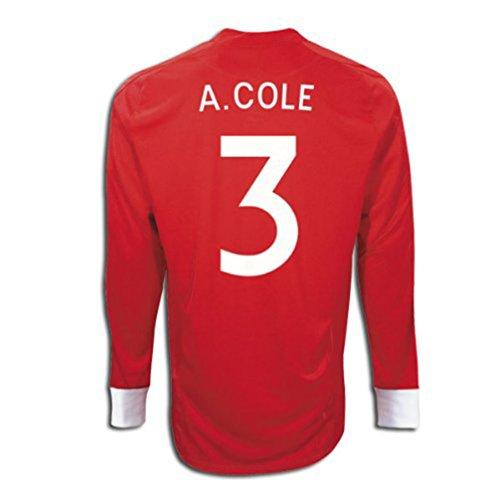 操るハンバーガーパレードUmbro A. COLE #3 England Away Jersey Long Sleeve/サッカーユニフォーム イギリス アウェイ用 長袖 背番号3 A.コール