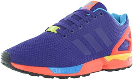 adidas ZX Flux Men s Running Shoes Collegiate Purple Solar Red b34491