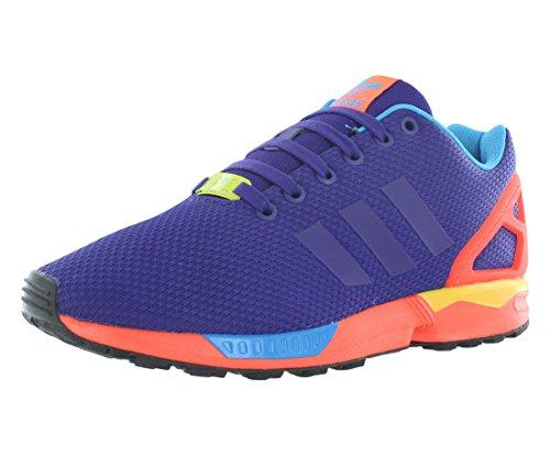 ZX Flux Men's Running Shoes Collegiate Purple/Solar Red b34491