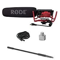 RODE VideoMic Directional Video Condenser Microphone with Mount (Model Discontinued by Manufacturer)
