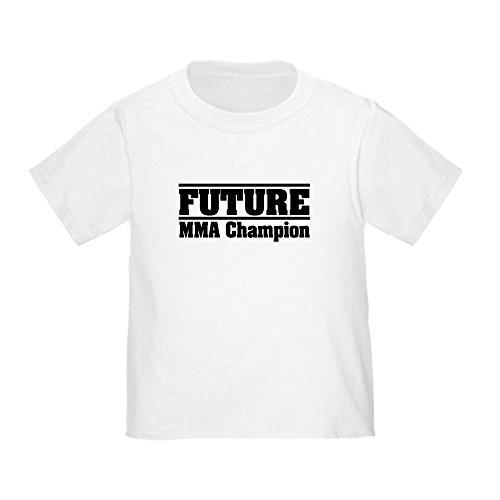 - CafePress Future MMA Champion Toddler T-Shirt Cute Toddler T-Shirt, 100% Cotton White