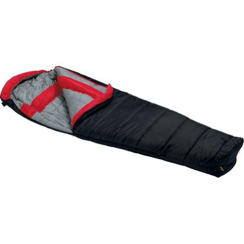 Wenzel Windy Pass 0-Degree Mummy Sleeping Bag, Black, 33 x 84-Inch, Outdoor Stuffs