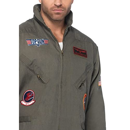 Leg Avenue Top Gun Men's Flight Suit Adult Costume