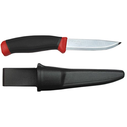 Morakniv Clipper 840 Fixed Blade Outdoor Knife with Carbon Steel Blade, 3.9-Inch