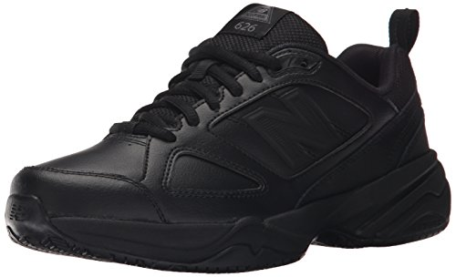 New Balance Women's WID626v2 Work Training Shoe,  Black, 8.5 M US