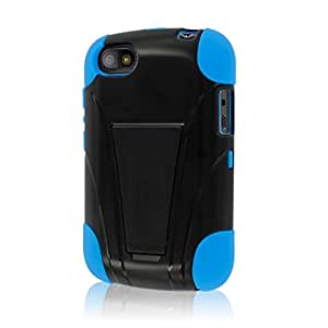 Mpero Impact X Series - Carcasa para BlackBerry 9720 (función atril), color azul