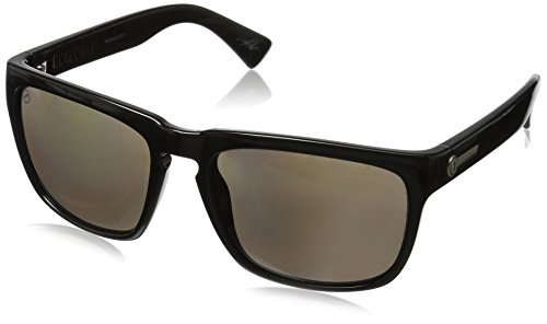Electric Visual Knoxville Gloss Black/OHM+Polarized Grey Sunglasses