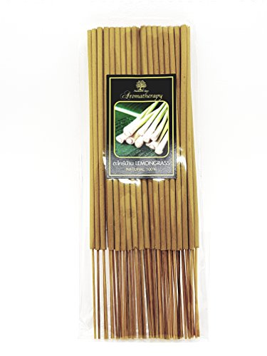(LEMONGRASS Thai Incense Spa Sticks Scents Diffused Best Aroma with Natural)