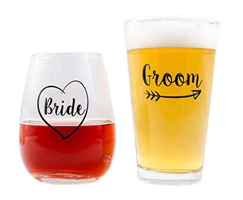Cute Wedding Gifts - Bride and Groom