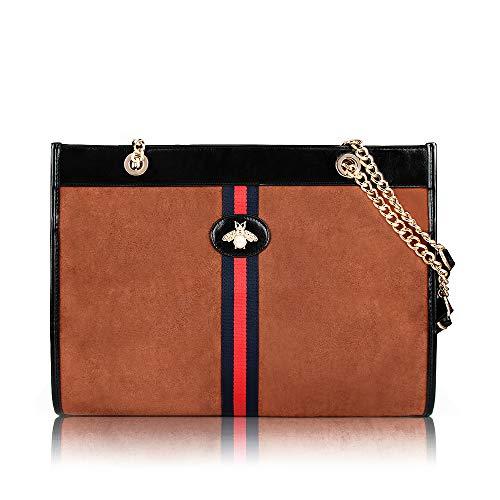 Beatfull Designer Soft Tote Handbag for Women, Fashion Tiger Top Handle Bag Shopping Shoulder bag Tote Set Purse -