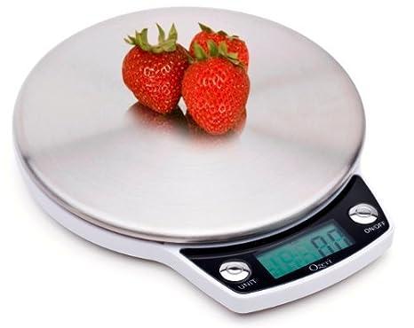 Amazon.com: Ozeri balanza digital de cocina de acero ...