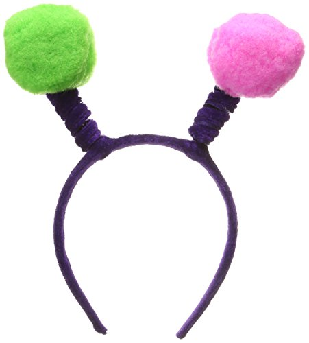 [Soft-Touch Pom-Pom Boppers (asstd colors) Party Accessory  (1 count) (1/Pkg)] (Happy New Year Boppers)