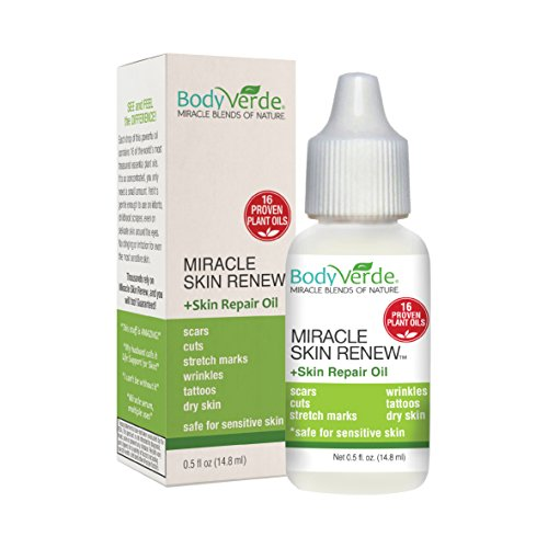 [BodyVerde Miracle Skin Renewal Natural Skin Care Product, Healing Jojoba and Coconut Oil Serum,] (Clown Around Makeup Kit)