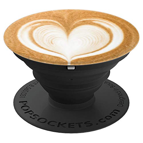 Latte Popper Art Gift - PopSockets Grip and Stand for Phones and Tablets