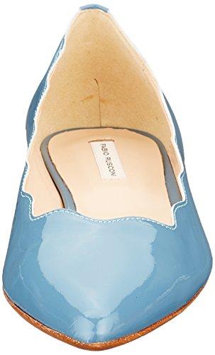 Fabio Rusconi Women's Schaftballerinas Closed Toe Ballet Flats Blue (Avio 629) tCjoD5Hl