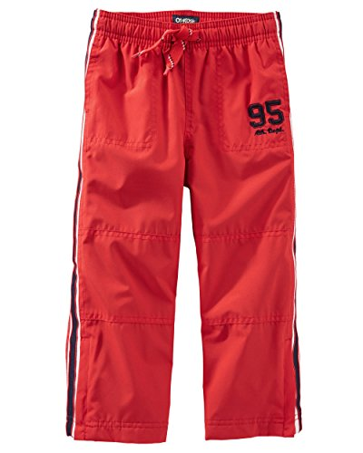 Oshkosh Boys' JERSEY-LINED ACTIVE PANTS, Red (14) - Lined Active Pant