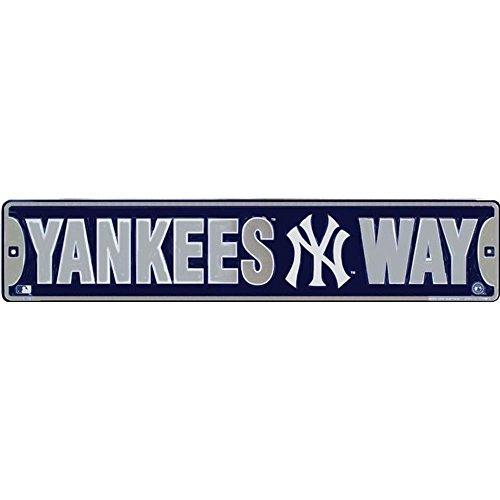 Signs 4 Fun SS20119 NY Yankee Way Street Sign ()