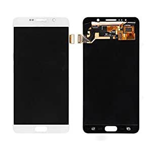 OEM Samsung Note 5 Full LCD Display Mobile Phone Repair Part Replacement (White)