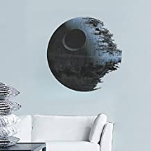 Dushang 3D Death Star Artwork Star Wars wall sticker for kids boys rooms Decal Removable wallpaper Home Decor Art