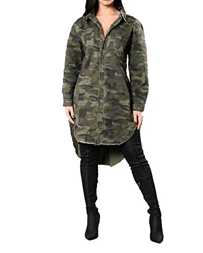 Sexycherry Faddish Military Camouflage Longer product image