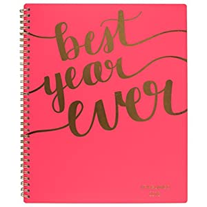 "AT-A-GLANCE Weekly / Monthly Planner, January 2018 - December 2018, 8-1/2"" x 11"", Aspire, Coral (1022-905-27)"