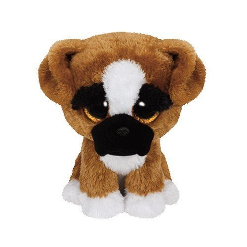 Ty Plush Beanie Boos Buddy Brutus The Boxer Medium by Ty