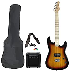 jameson guitars rwgt280sb full size electric guitar package with amplifier case and. Black Bedroom Furniture Sets. Home Design Ideas