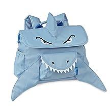 Bixbee Animal Pack Sharks Kids Backpack, Blue