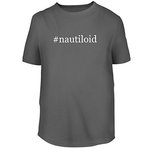 BH Cool Designs #Nautiloid - Men's Graphic Tee, Grey, Small