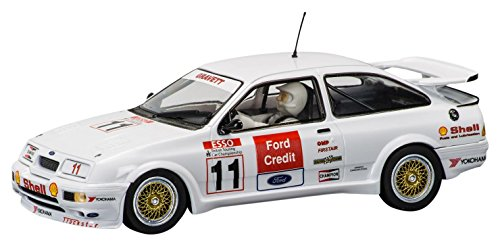 Scalextric C3781 Robb Gravatt Ford Sierra Rs500 Back Brands Hatch Slot Car (1:32 Scale)