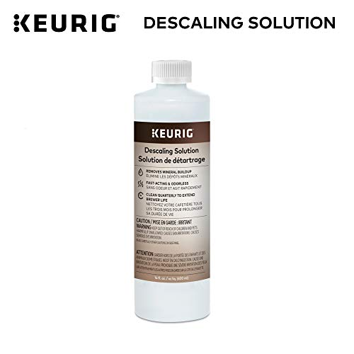 - Keurig Descaling Solution For All Keurig 2.0 and 1.0 K-Cup Pod Coffee Makers -  Packaging May Vary