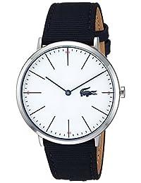 Lacoste Men's 2010914 Luxury Moon Ultra Slim 2h 40mm Nylon Strap Watch